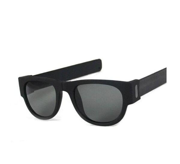SlapSunny Die klappbare Sonnenbrille schwarz